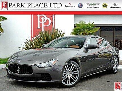 2014 Maserati Ghibli S Q4 for sale 100795790