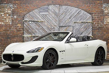 2014 Maserati GranTurismo Convertible for sale 100840834