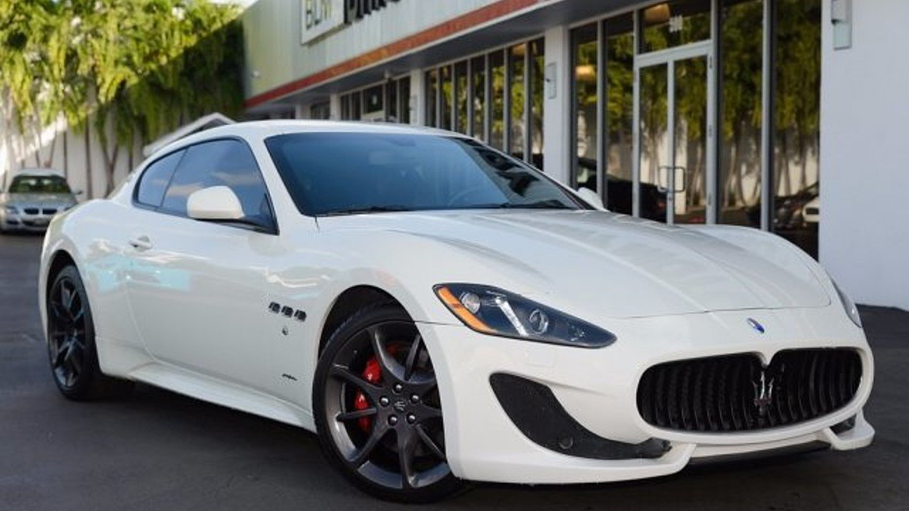2014 Maserati GranTurismo Coupe for sale 100928946
