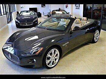 2014 Maserati GranTurismo Convertible for sale 100953953