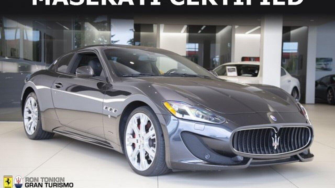2014 Maserati GranTurismo Coupe for sale 100996100