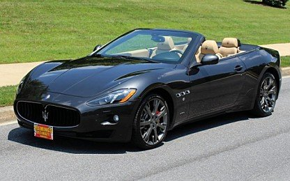 2014 Maserati GranTurismo Convertible for sale 100998433