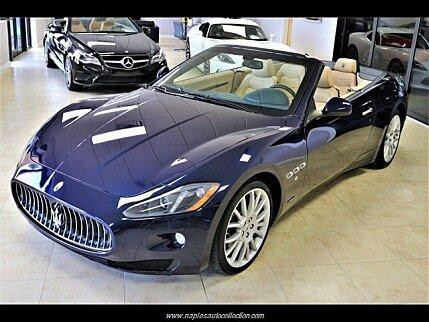 2014 Maserati GranTurismo Convertible for sale 101017201