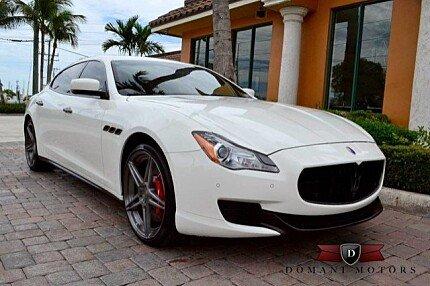 2014 Maserati Quattroporte GTS for sale 100782662