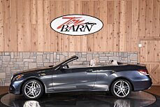2014 Mercedes-Benz E550 Cabriolet for sale 100817040