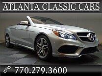 2014 Mercedes-Benz E550 Cabriolet for sale 100830695