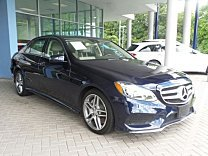 2014 Mercedes-Benz E550 4MATIC Sedan for sale 100893835