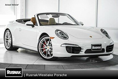 2014 Porsche 911 Carrera S Cabriolet for sale 100950907