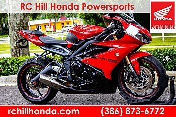 2014 Triumph Daytona 675 for sale 200618010