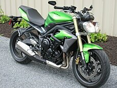 2014 Triumph Street Triple for sale 200477497