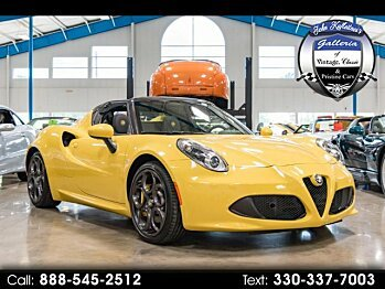 2015 Alfa Romeo 4C Spider for sale 101013192