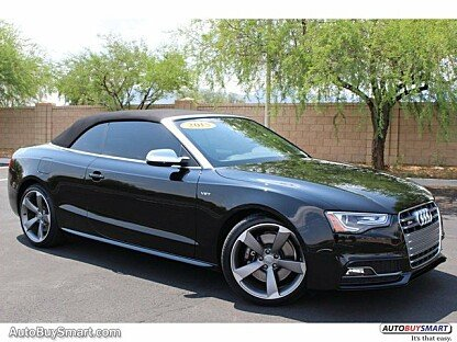 2015 Audi S5 3.0T Premium Plus Cabriolet for sale 100786104