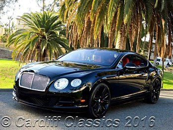 2015 Bentley Continental GT Speed Coupe for sale 100742425