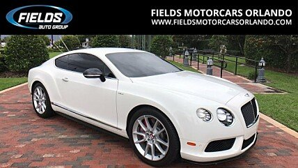 2015 Bentley Continental GT V8 S Coupe for sale 100876811