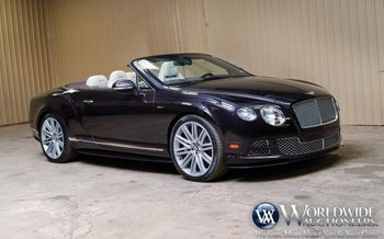 2015 Bentley Continental GTC Speed Convertible for sale 100975531