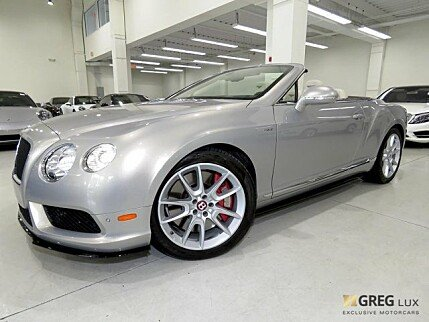 2015 Bentley Continental GT V8 S Convertible for sale 100997994