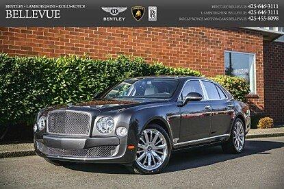 2015 Bentley Mulsanne for sale 100261496