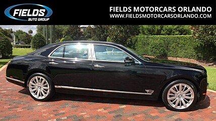 2015 Bentley Mulsanne for sale 100881413