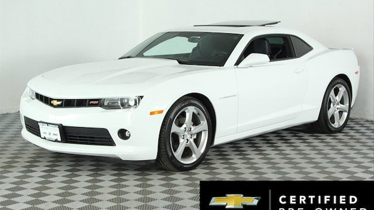2015 Chevrolet Camaro LT Coupe for sale 100899320