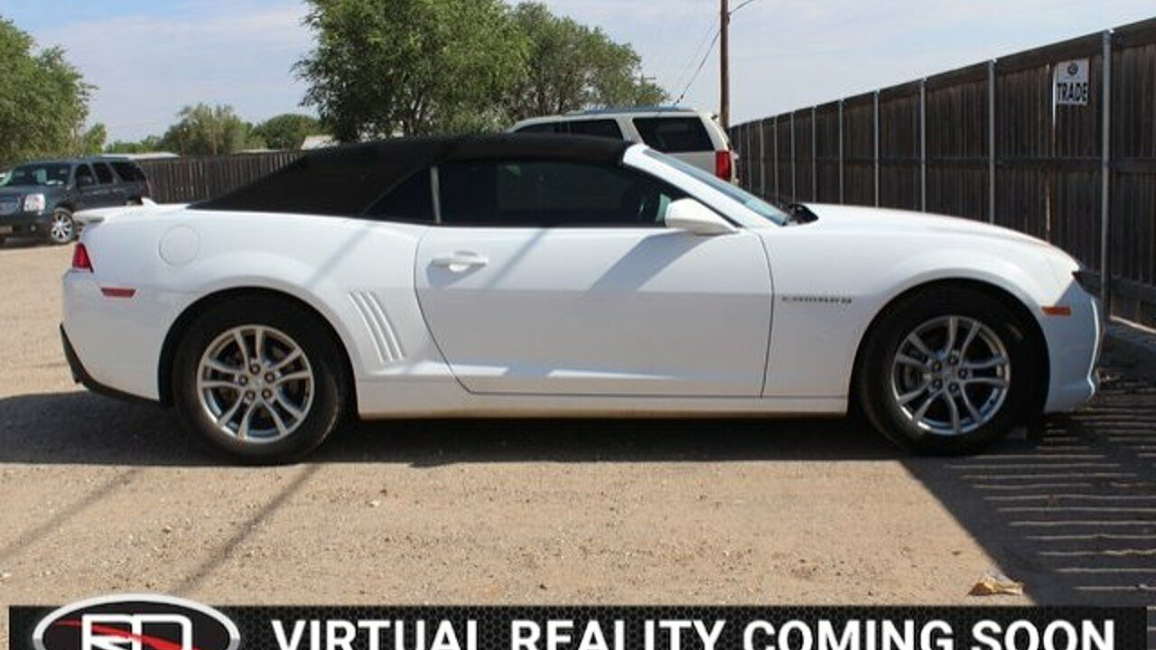 2015 Chevrolet Camaro LT Convertible for sale 101007490
