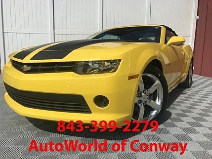 2015 Chevrolet Camaro LT Convertible for sale 101025892