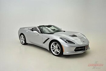 2015 Chevrolet Corvette Convertible for sale 100951922