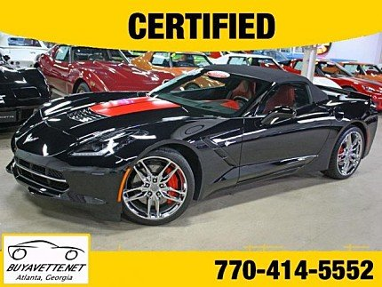 2015 Chevrolet Corvette Convertible for sale 101010283