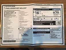 2015 Dodge Challenger SRT Hellcat for sale 100916021
