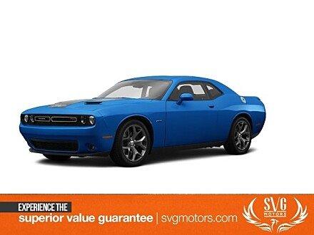 2015 Dodge Challenger R/T Plus for sale 101024517