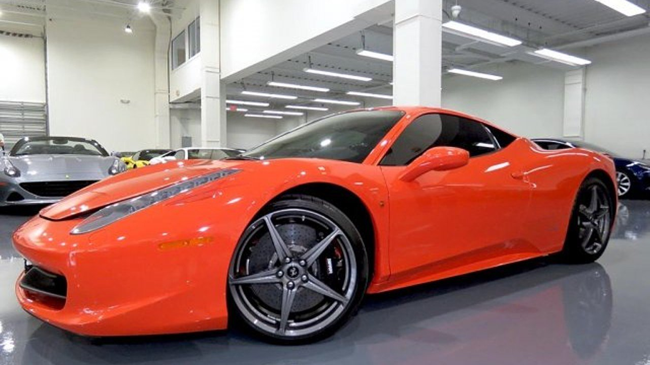 2015 Ferrari 458 Italia Coupe for sale 100990355
