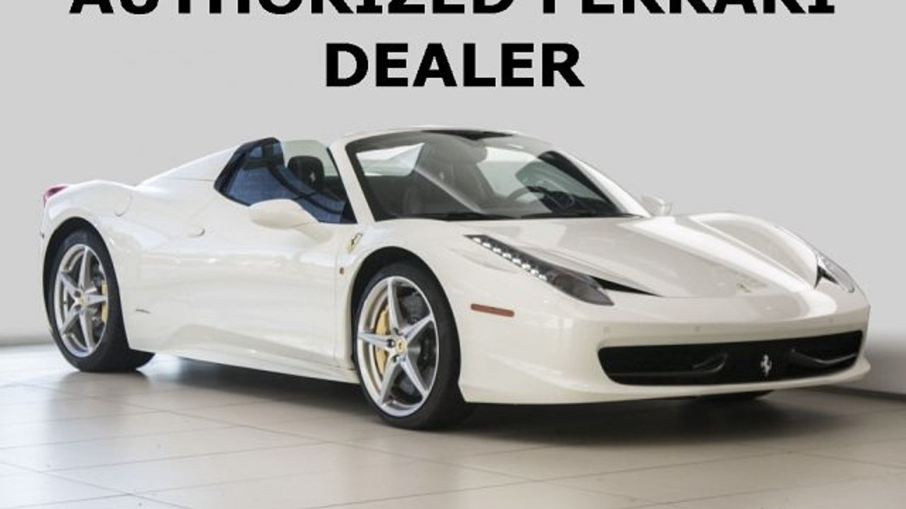 2015 Ferrari 458 Italia Spider for sale 100996119