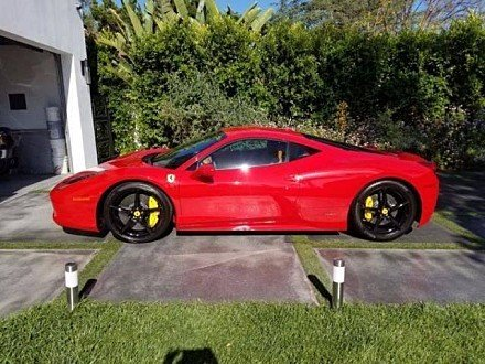 2015 Ferrari 458 Italia Coupe for sale 100897371