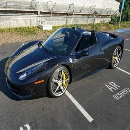 2015 Ferrari 458 Italia Spider for sale 100897959