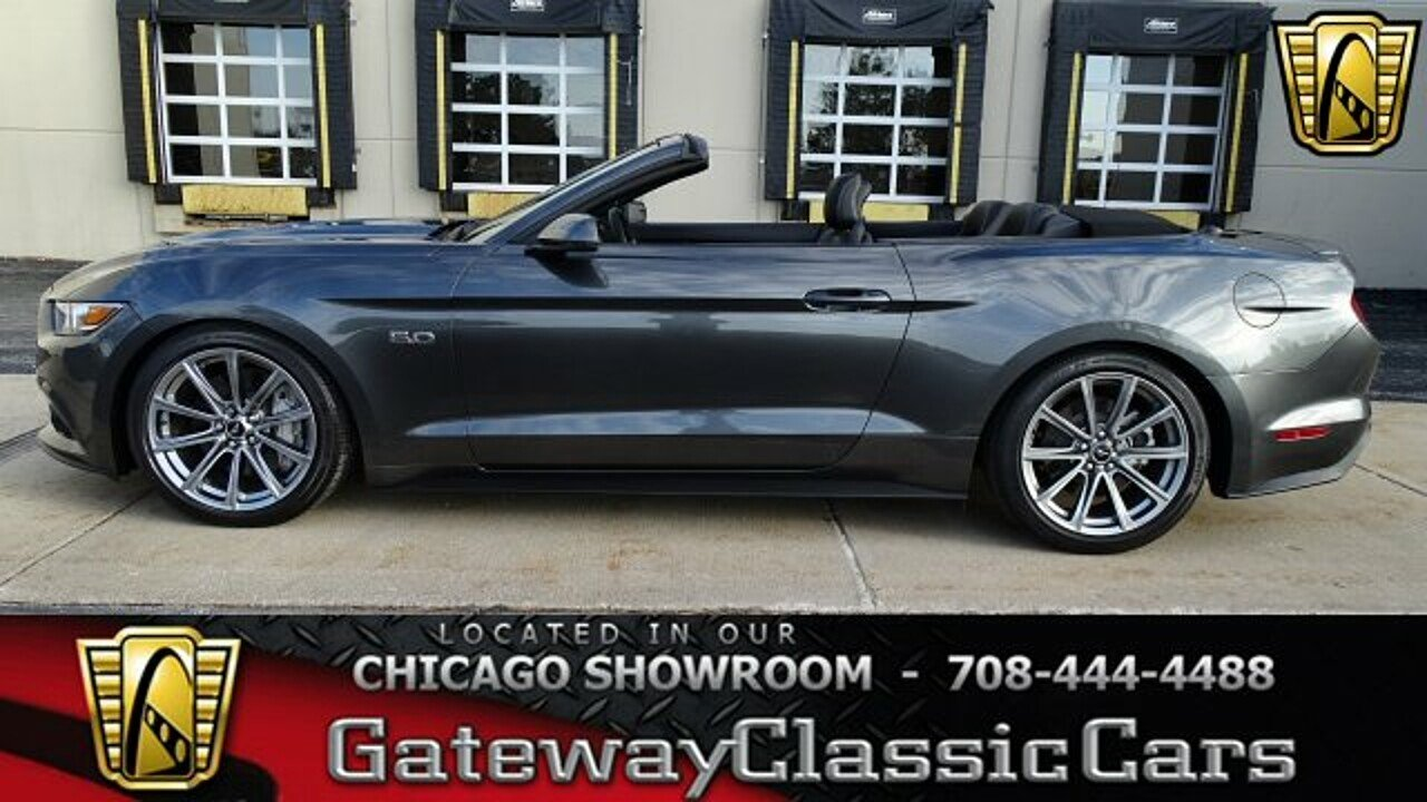 2015 ford mustang gt convertible for sale near o fallon illinois 62269 classics on autotrader. Black Bedroom Furniture Sets. Home Design Ideas