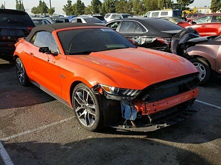2015 Ford Mustang GT Convertible for sale 101056100