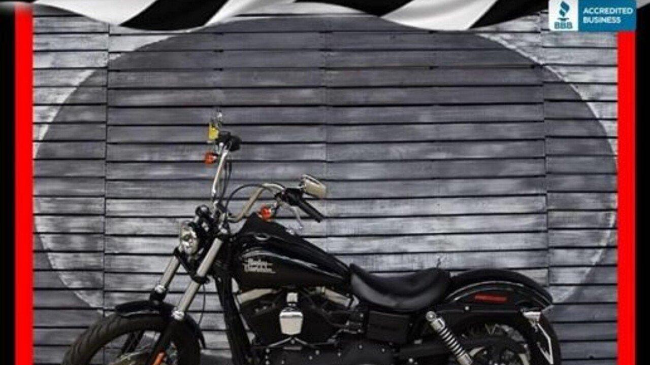 2015 Harley-Davidson Dyna for sale 200449540