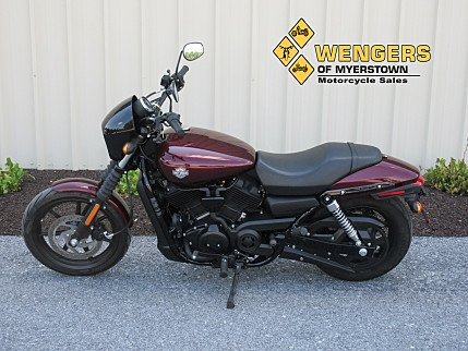 2015 Harley-Davidson Street 500 for sale 200373227