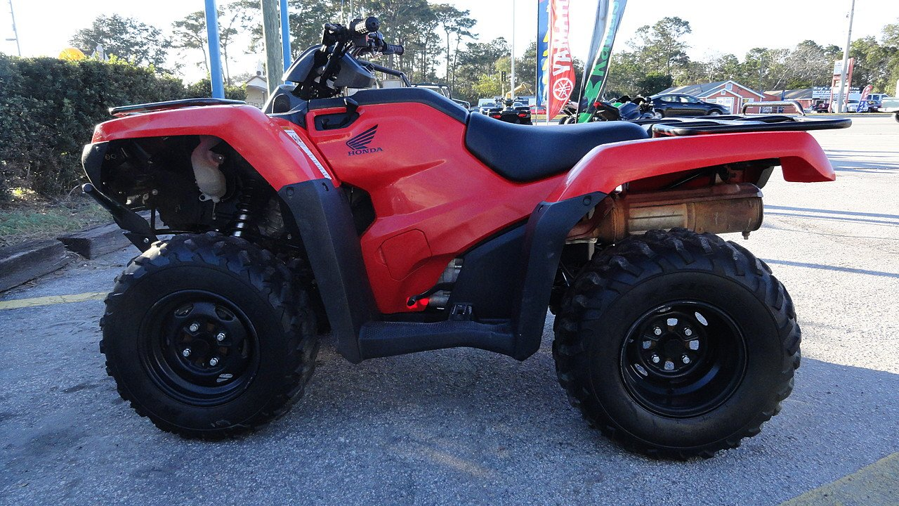 2015 Honda FourTrax Rancher 4x4 Automatic DCT EPS for sale 200419448