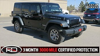 2015 Jeep Wrangler 4WD Unlimited Rubicon for sale 100887047