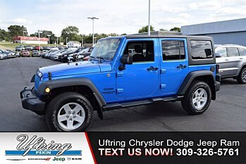 2015 Jeep Wrangler 4WD Unlimited Sport for sale 100903736