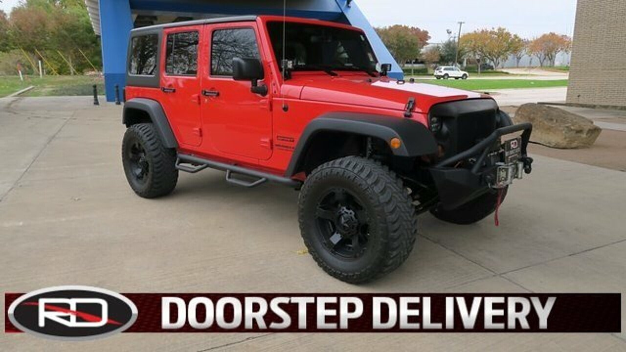 2015 Jeep Wrangler 4WD Unlimited Sport for sale 100909607