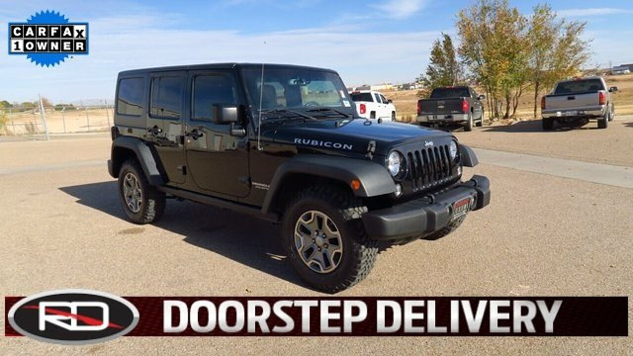 2015 Jeep Wrangler 4WD Unlimited Rubicon for sale 100928800