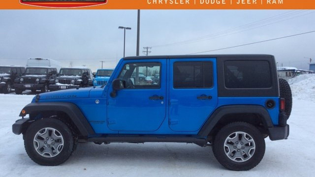 2015 Jeep Wrangler 4WD Unlimited Rubicon for sale 100929911
