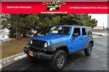 2015 Jeep Wrangler 4WD Unlimited Sport for sale 100940364