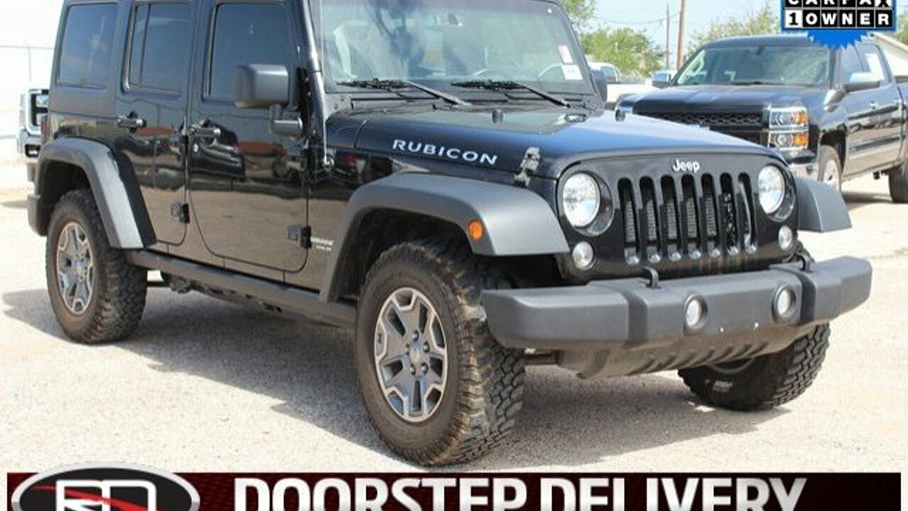2015 Jeep Wrangler 4WD Unlimited Rubicon for sale 101000901