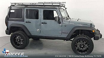 2015 Jeep Wrangler 4WD Unlimited Rubicon for sale 101024569