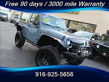 2015 Jeep Wrangler 4WD Rubicon for sale 101049541