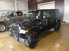 2015 Jeep Wrangler 4WD Unlimited Sahara for sale 100880161