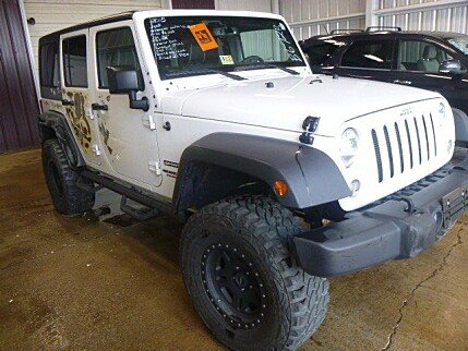 2015 Jeep Wrangler 4WD Unlimited Sport for sale 100896609