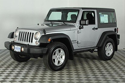 2015 Jeep Wrangler 4WD Sport for sale 100927736